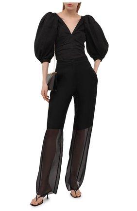 Женская блузка ISABEL MARANT черного цвета, арт. HT2073-21E023I/JAYLEE | Фото 2