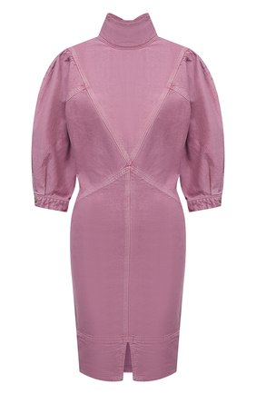Женское джинсовое платье ISABEL MARANT ETOILE розового цвета, арт. R01891-21P065E/LAURE | Фото 1