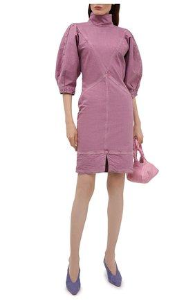 Женское джинсовое платье ISABEL MARANT ETOILE розового цвета, арт. R01891-21P065E/LAURE | Фото 2