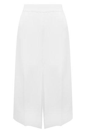 Женская юбка из вискозы MRZ белого цвета, арт. S21-0022 | Фото 1