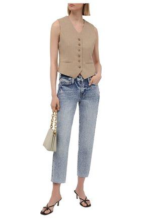 Женские джинсы FRAME DENIM голубого цвета, арт. LNSRA118   Фото 2