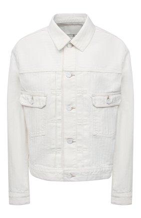 Женская джинсовая куртка MOUSSY белого цвета, арт. 025ESC11-1260 | Фото 1
