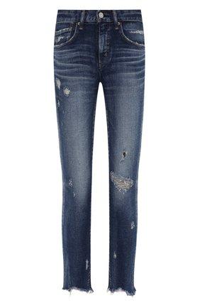 Женские джинсы MOUSSY темно-синего цвета, арт. 025ESC12-2530 | Фото 1