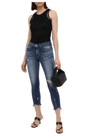 Женские джинсы MOUSSY темно-синего цвета, арт. 025ESC12-2530 | Фото 2