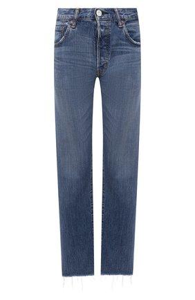 Женские джинсы MOUSSY синего цвета, арт. 025ESC11-2620 | Фото 1
