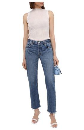 Женские джинсы MOUSSY синего цвета, арт. 025ESC11-2620 | Фото 2
