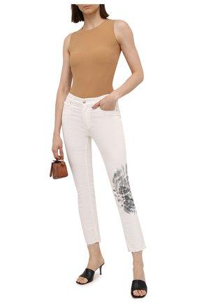 Женские джинсы ZADIG&VOLTAIRE белого цвета, арт. SKCA3001F   Фото 2