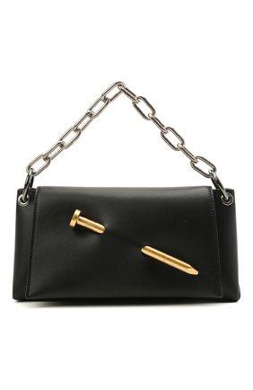 Женская сумка nail OFF-WHITE черного цвета, арт. 0WNN024S21LEA001 | Фото 1