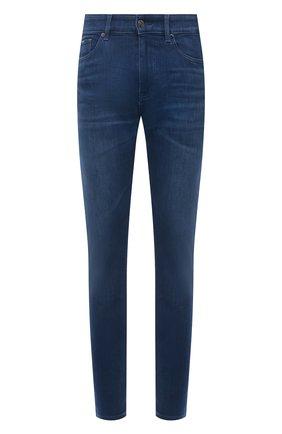 Мужские джинсы BOSS синего цвета, арт. 50453155 | Фото 1