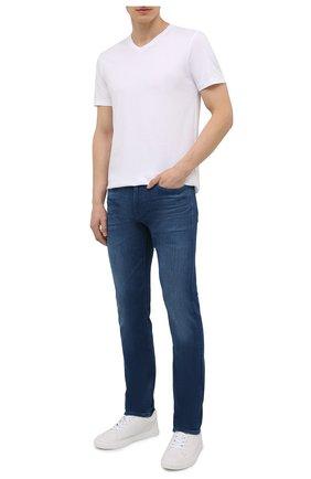Мужские джинсы BOSS синего цвета, арт. 50453155 | Фото 2
