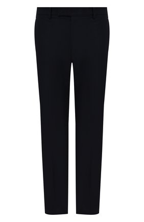 Мужские хлопковые брюки BERLUTI темно-синего цвета, арт. R20TCU57-001   Фото 1