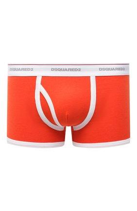 Мужские хлопковые боксеры DSQUARED2 оранжевого цвета, арт. D9LD93560 | Фото 1