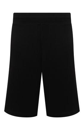 Мужские хлопковые шорты MONCLER черного цвета, арт. G1-091-8H735-00-8098U | Фото 1