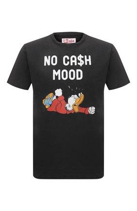 Мужская хлопковая футболка MC2 SAINT BARTH черного цвета, арт. STBM JACK/JACK001 | Фото 1