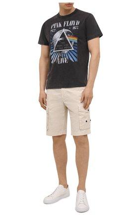 Мужская хлопковая футболка MC2 SAINT BARTH черного цвета, арт. STBM JACK/JACK001 | Фото 2
