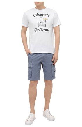 Мужская хлопковая футболка MC2 SAINT BARTH белого цвета, арт. STBM TSHIRT MAN/TSHM001 | Фото 2