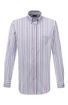 Мужская хлопковая рубашка PAUL&SHARK разноцветного цвета, арт. 21413040/C00 | Фото 1