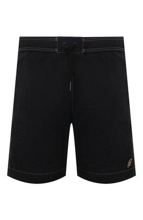 Мужские плавки-шорты BRIONI черного цвета, арт. N2340L/P6813 | Фото 1