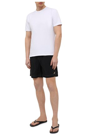 Мужские плавки-шорты BRIONI черного цвета, арт. N2340L/P6813 | Фото 2