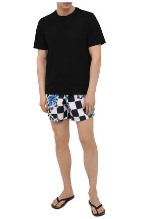 Мужские плавки-шорты OFF-WHITE разноцветного цвета, арт. 0MFA003S21FAB002 | Фото 2
