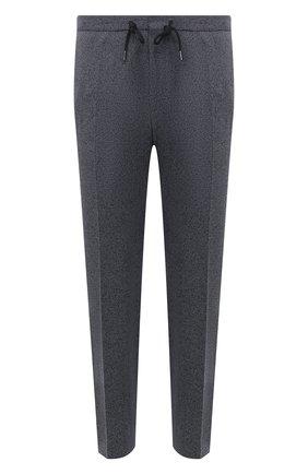 Мужские брюки BOSS темно-синего цвета, арт. 50453770 | Фото 1