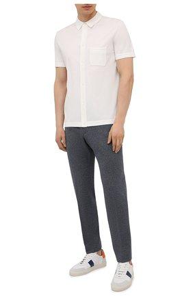 Мужские брюки BOSS темно-синего цвета, арт. 50453770 | Фото 2