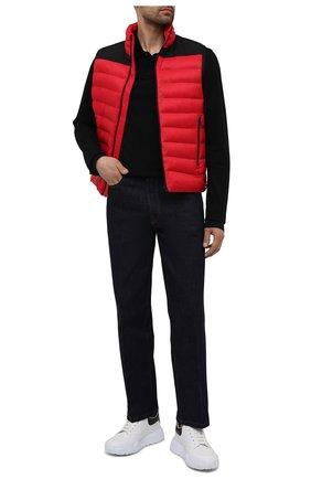 Мужской утепленный жилет HUGO красного цвета, арт. 50452854 | Фото 2