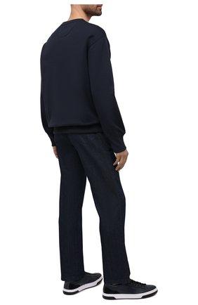 Мужские кеды HUGO темно-синего цвета, арт. 50454951 | Фото 2