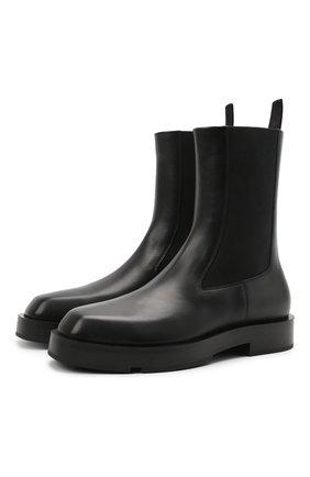 Мужские кожаные челси GIVENCHY черного цвета, арт. BH6033H0VG | Фото 1