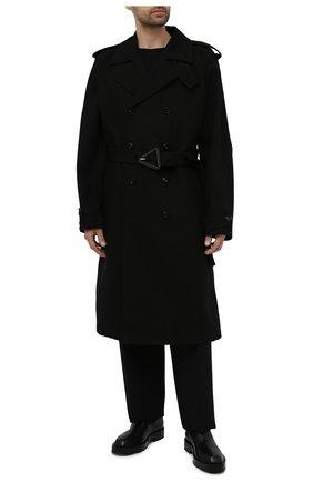 Мужские кожаные челси GIVENCHY черного цвета, арт. BH6033H0VG | Фото 2