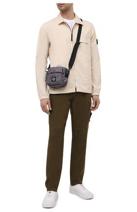 Мужская текстильная сумка STONE ISLAND темно-серого цвета, арт. 741590270   Фото 2