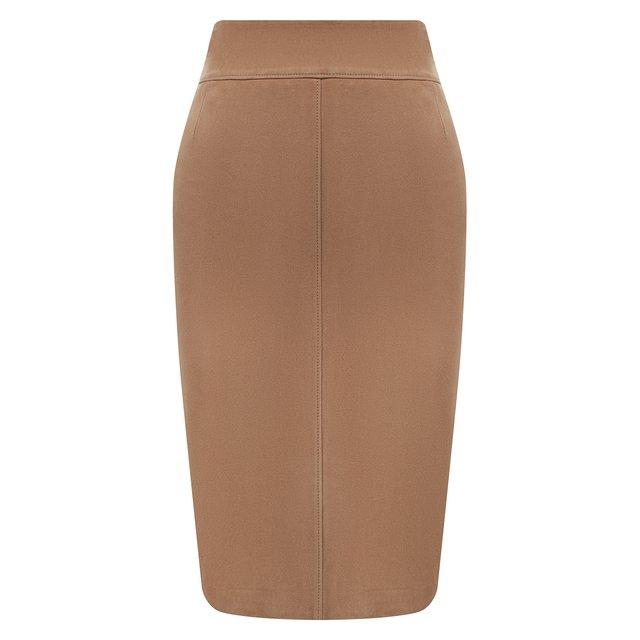 Замшевая юбка BOSS