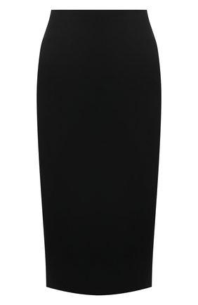 Женская юбка BOSS черного цвета, арт. 50454596 | Фото 1