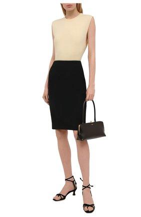 Женская юбка BOSS черного цвета, арт. 50454596 | Фото 2