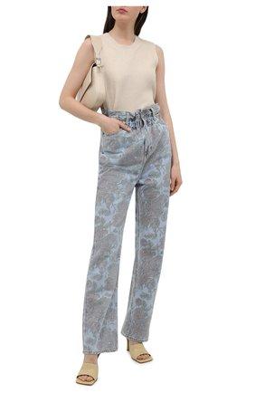 Женские джинсы ganni x levi's GANNI голубого цвета, арт. F6092 | Фото 2