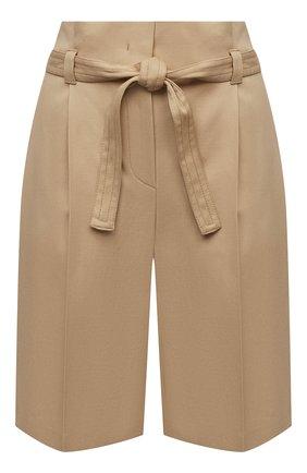 Женские хлопковые шорты WINDSOR бежевого цвета, арт. 52 DH565 10008591 | Фото 1