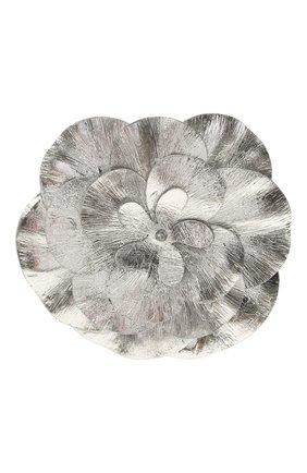 Женская брошь ISABEL MARANT серебряного цвета, арт. BC0054-21E016B | Фото 1 (Материал: Металл)