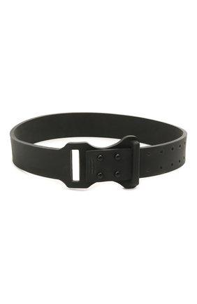 Женское чокер rubber tag BALENCIAGA черного цвета, арт. 656446/TZSIL | Фото 2