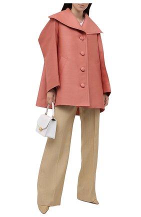 Женское шерстяное пальто LANVIN розового цвета, арт. RW-C00010-4869-E21 | Фото 2