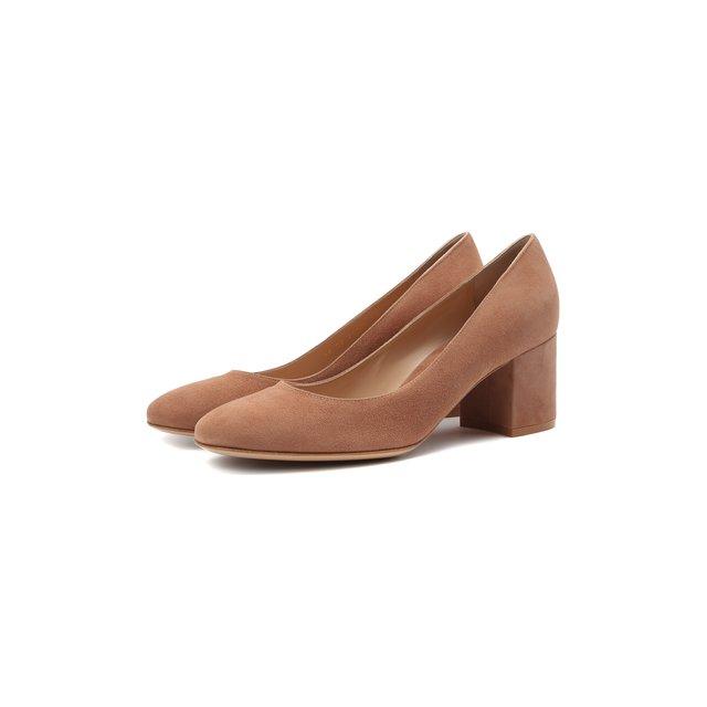 Замшевые туфли Linda Gianvito Rossi