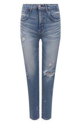 Женские джинсы MOUSSY голубого цвета, арт. 025ESC12-2550 | Фото 1