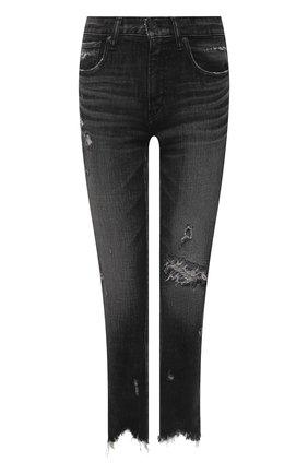 Женские джинсы MOUSSY темно-серого цвета, арт. 025ESC12-2540 | Фото 1