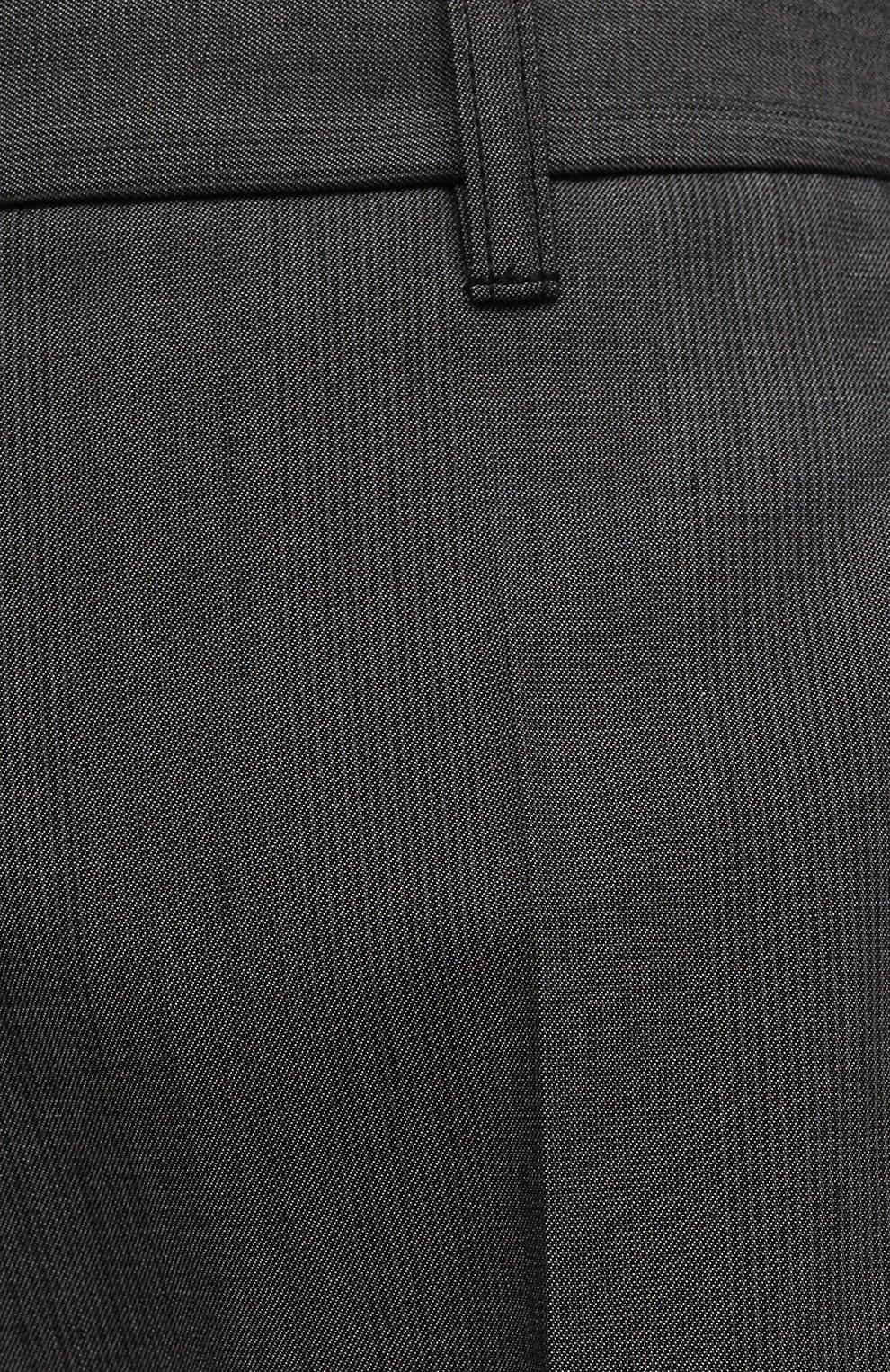 Женские шерстяные шорты BARBARA BUI темно-серого цвета, арт. X1650XAB | Фото 5 (Женское Кросс-КТ: Шорты-одежда; Материал внешний: Шерсть, Хлопок; Стили: Гламурный; Длина Ж (юбки, платья, шорты): Мини)