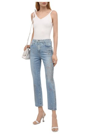 Женские джинсы AG голубого цвета, арт. JRN1676/19YPUB/MX | Фото 2
