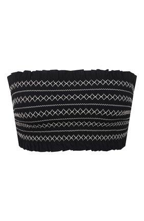 Женский бра-бандо TORY BURCH черного цвета, арт. 36534 | Фото 1