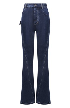 Женские джинсы BOTTEGA VENETA темно-синего цвета, арт. 654286/V0SH0 | Фото 1