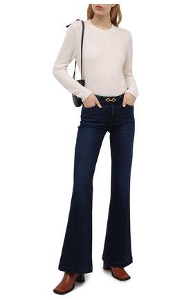 Женские джинсы PAIGE темно-синего цвета, арт. 3312F72-4748 | Фото 2
