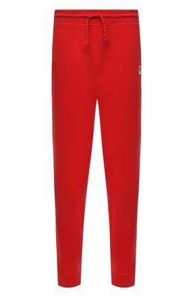 Мужские хлопковые джоггеры boss x russell athletic BOSS красного цвета, арт. 50456903 | Фото 1