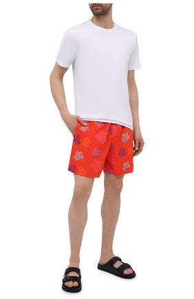 Мужские плавки-шорты VILEBREQUIN красного цвета, арт. MISH0C36/193 | Фото 2