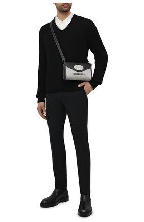 Мужские брюки HUGO темно-синего цвета, арт. 50450948 | Фото 2